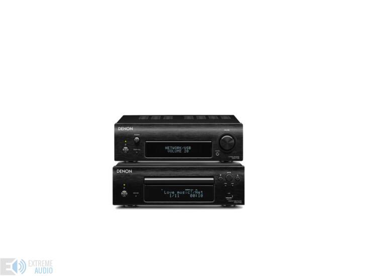 Denon DRA-DCD-F109 mini Hi-Fi rendszer dab + (Bolti bemutató darab)