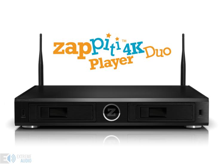 Zappiti Player 4K Duo Multimédia lejátszó