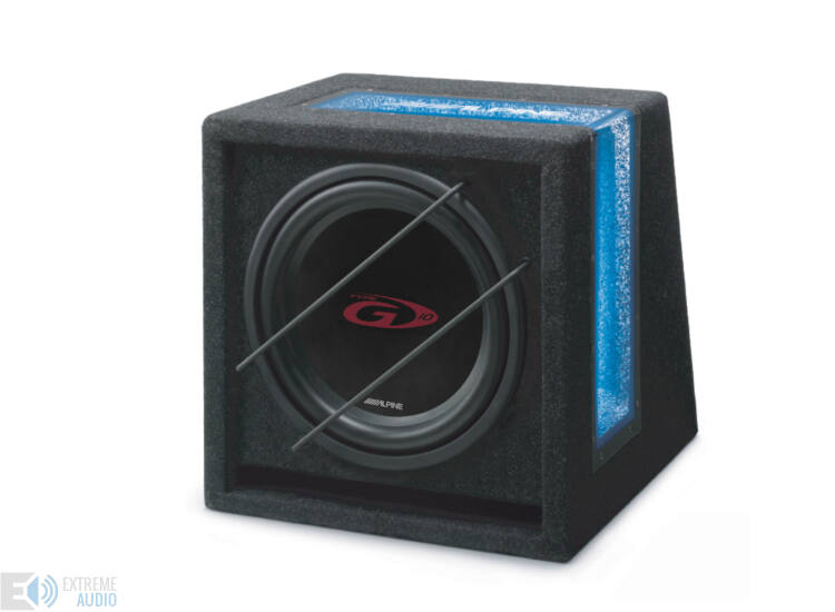 Alpine SBG-1044BR Bass reflex mélyláda