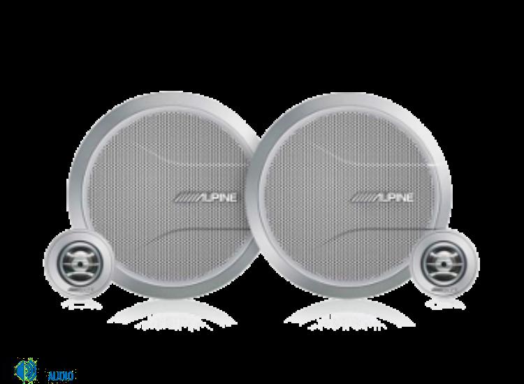 Alpine SPR-M70 2 utas komponens hangszóró szett 16,5cm