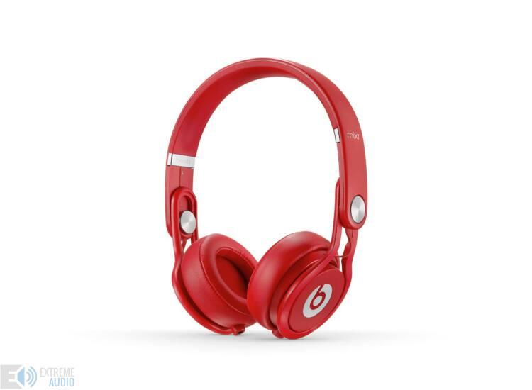 Beats MIXR fejhallgató, piros