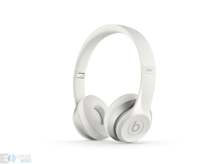 Beats SOLO2 On-Ear fejhallgató Fehér