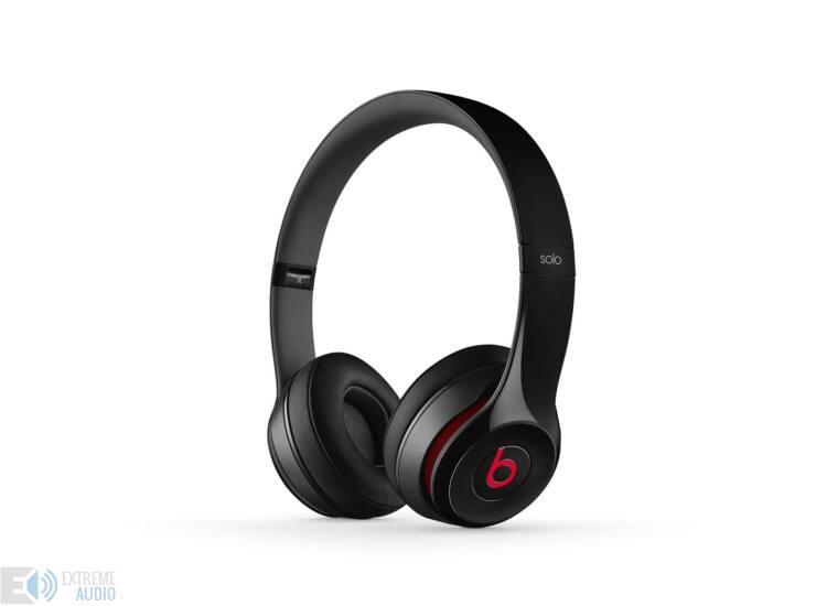 Beats SOLO2 On-Ear fejhallgató Fekete (Bolti bemutató darab)