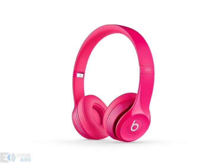 Beats SOLO2 On-Ear fejhallgató Pink