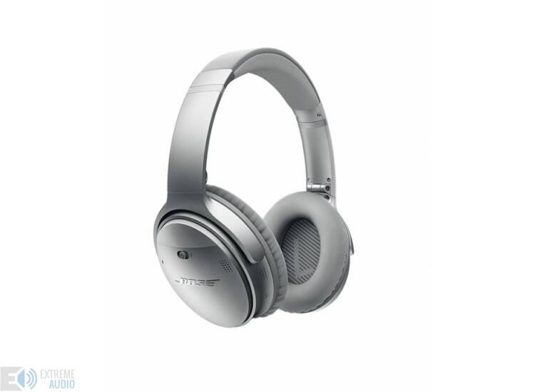 Bose QuietComfort 35 aktív zajszűrős, bluetooth-os fejhallgató ezüst