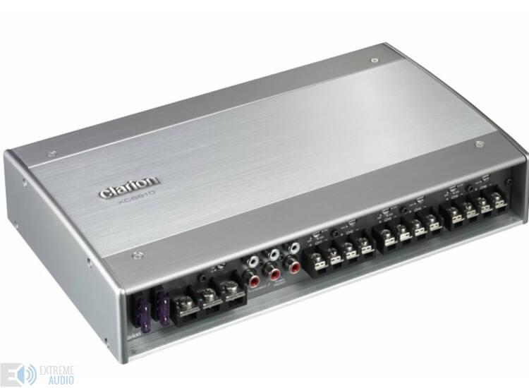 Clarion XC 6610 6/5/4/3 csatornás erősítő