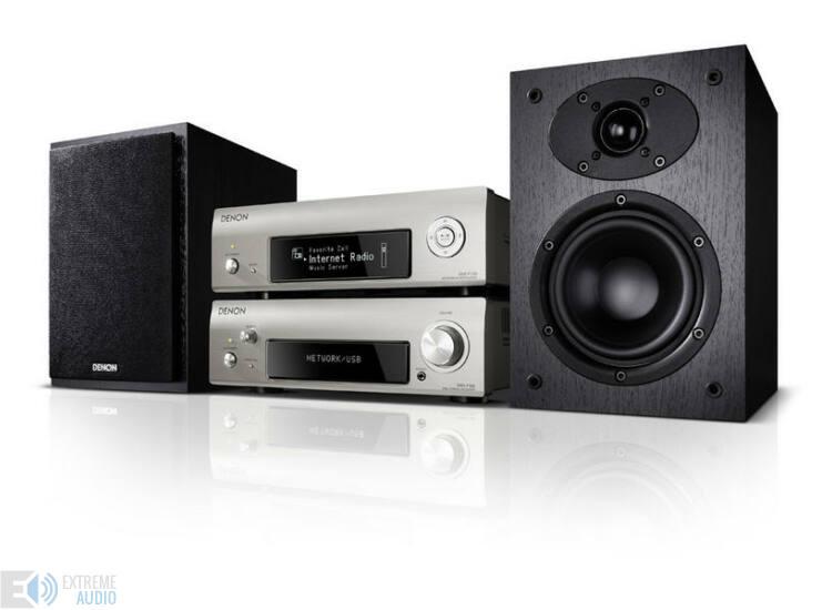 Denon DRA-DCD-F109 mini Hi-Fi rendszer ezüst