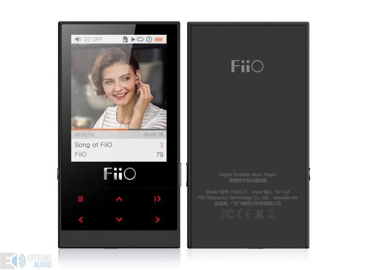 FiiO M3 Fekete lejátszó (DAP) Fülhallgatóval