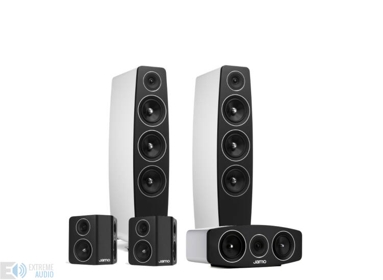 Jamo C 109 5.0 hangfalszett, fehér