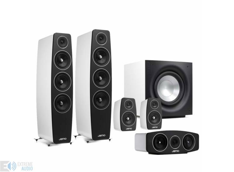Jamo C 109 5.1 hangfalszett C103 háttérsugárzóval fehér