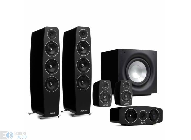 Jamo C 109 5.1 hangfalszett C103 háttérsugárzóval fekete