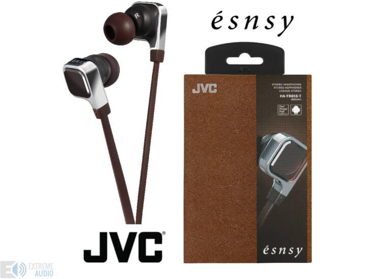 JVC HA-FR65S-T ÉSNSY FASHION MOBIL fülhallgató, barna