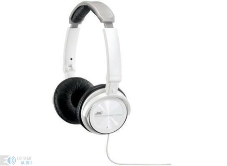 JVC HA-S360 PEHELYKÖNNYŰ zárt fejhallgató, fehér