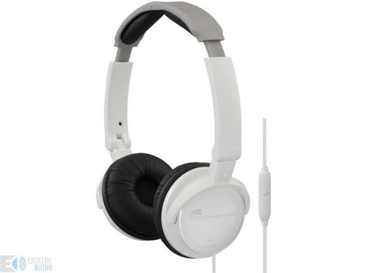 JVC HA-SR500 PEHELYKÖNNYŰ MOBIL zárt fejhallgató, fehér