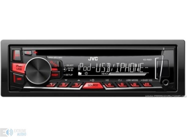 JVC KD-R661 MP3/CD/USB-s fejegység