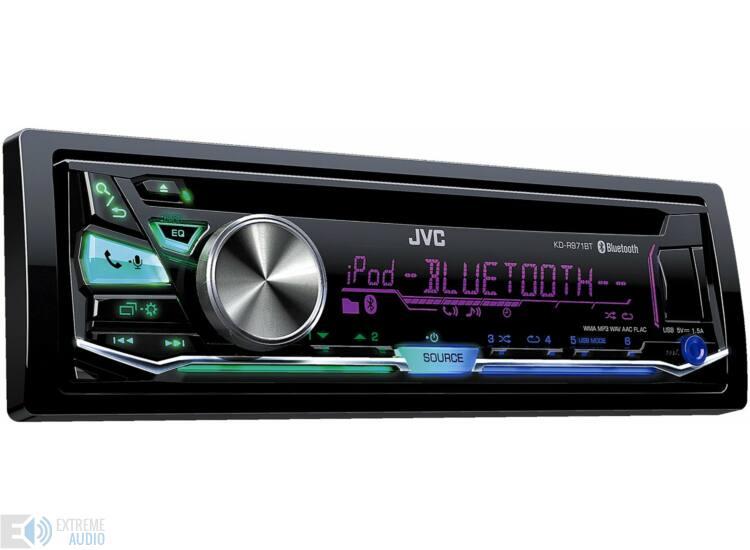 JVC KD-R971 MP3/CD/USB/BLUETOOTH-os fejegység