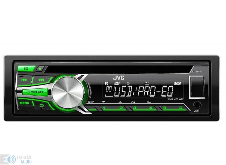 JVC KD-R453 MP3/CD/USB-s fejegység