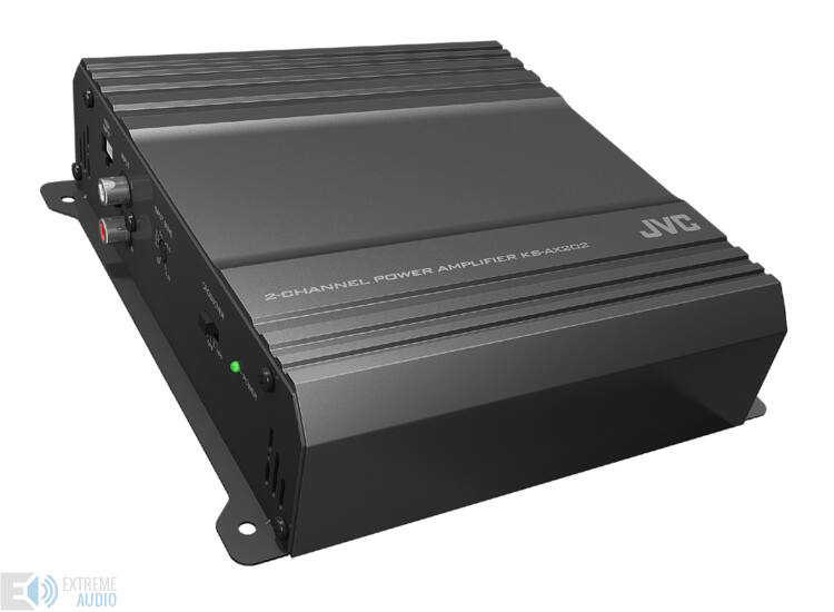 JVC KS-AX202 2 csatornás autó erősítő