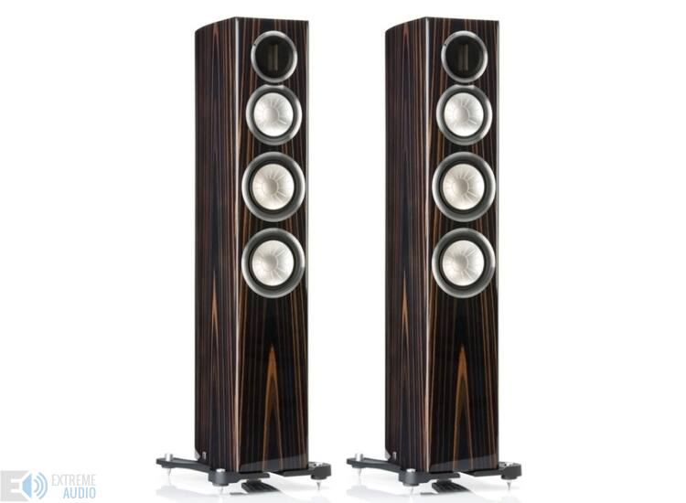 Monitor Audio GX300 hangfal pár ébenfa