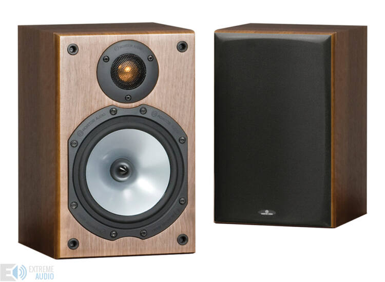 Monitor Audio MR1 hangfal pár sötét dió