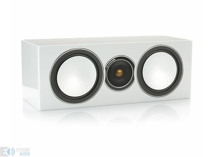 Monitor Audio Silver center  magasfényű hangfal fehér lakk