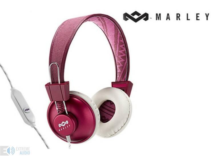 Marley (EM-JH011-PU) Positive Vibration PURPLE fejhallgató
