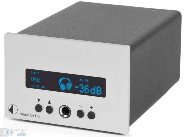 Pro-Ject Head Box DS fejhallgató erősítő ezüst