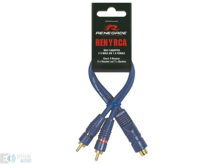 Renegade RENYRCA RCA Y átalakító kábel