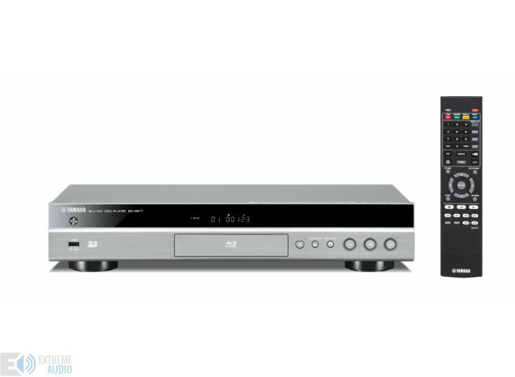 Yamaha BD-S677 Blu-ray lejátszó titán
