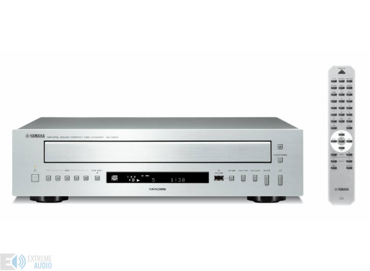 Yamaha CD-C600 5 lemezes CD-váltó ezüst