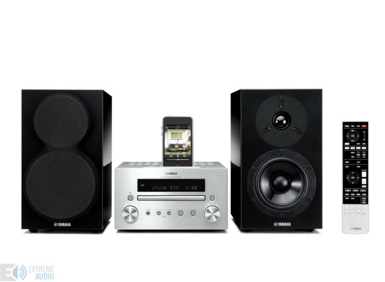 Yamaha MCR-550 Mikro Hi-Fi, ezüst/zongoralakk