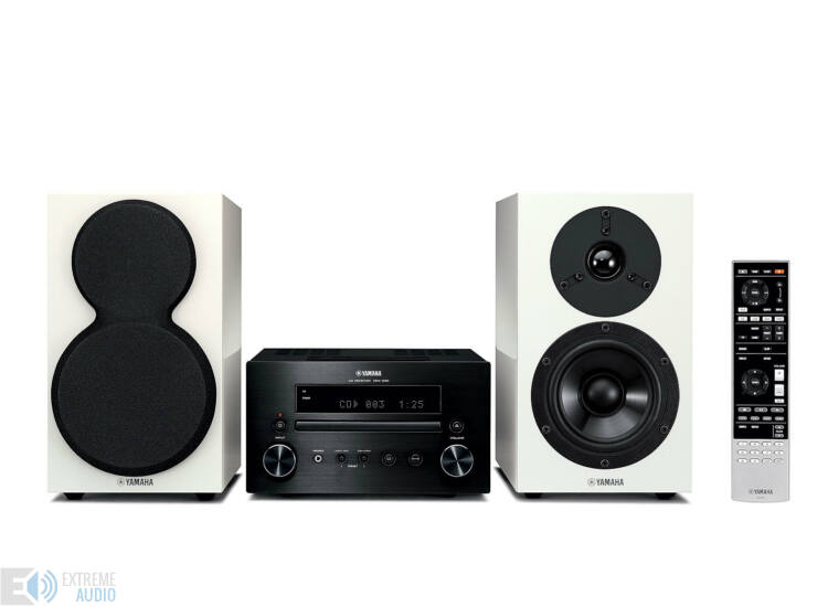 Yamaha MCR-550 Mikro Hi-Fi, fekete/fehér