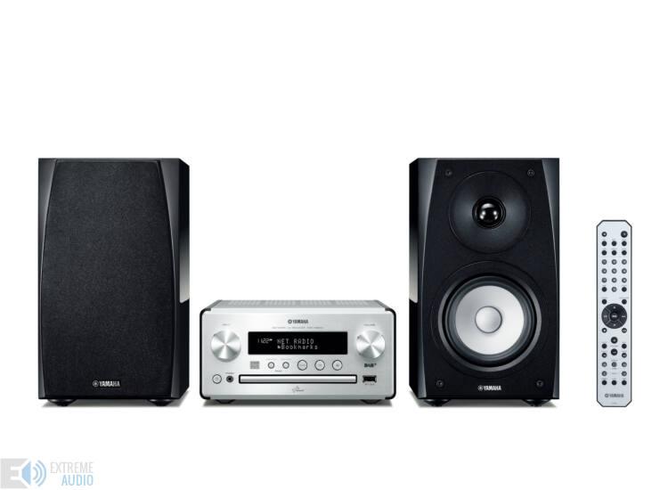 Yamaha MCR-N560 Hálózatos Mikro Hi-Fi ezüst-fekete