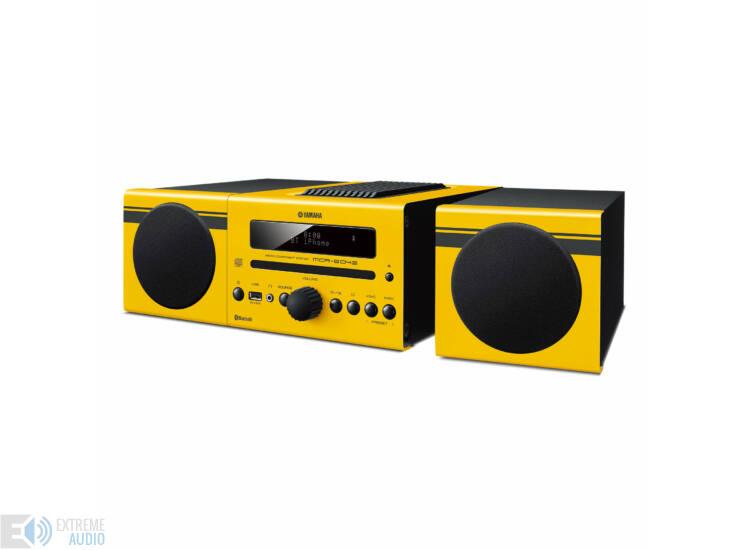 Yamaha MCR-B043 mikro hi-fi sárga
