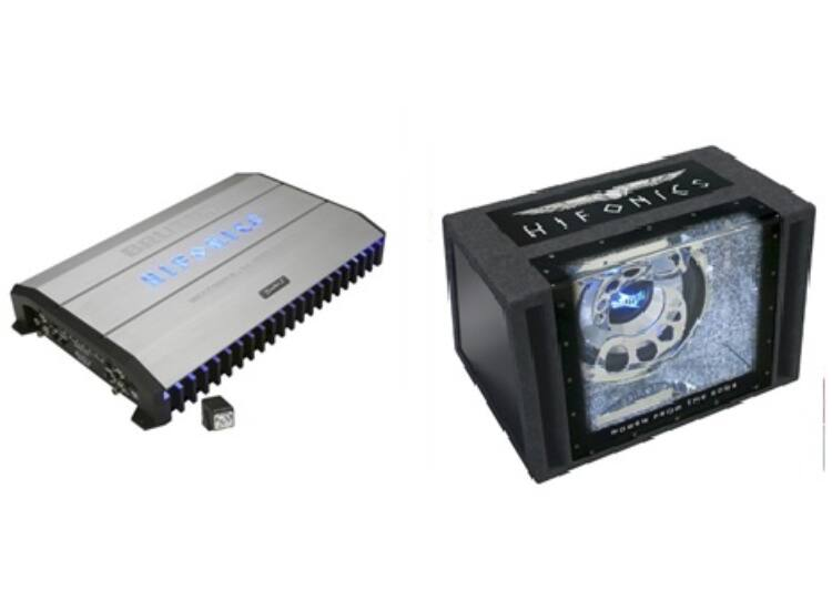 HIFONICS BRX-1500D + HIFONICS BXi-12BP