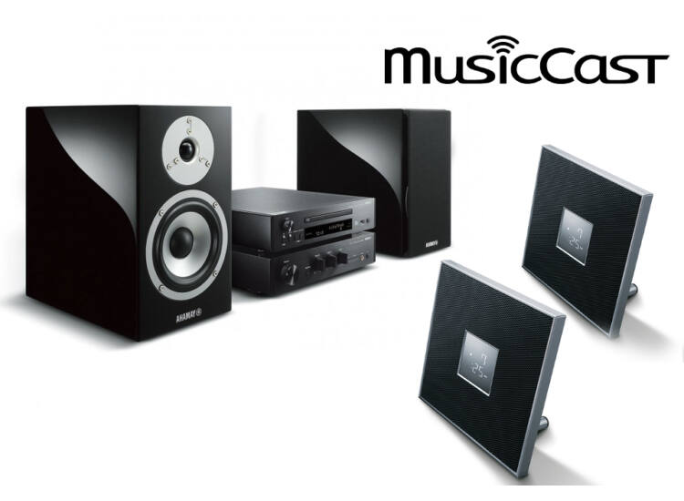 Yamaha MCR-N870 Mikro Hi-Fi + 2db ISX-80, 3 zónás sztereó szett