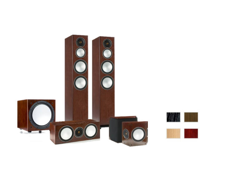 Monitor audio Silver 8 + FX + Center + RXW12 5.1 hangfalszett