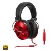 Pioneer SE-MS5T fejhallgató matt-candy piros