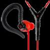 Yurbuds Focus 400 sport fülhallgató, piros