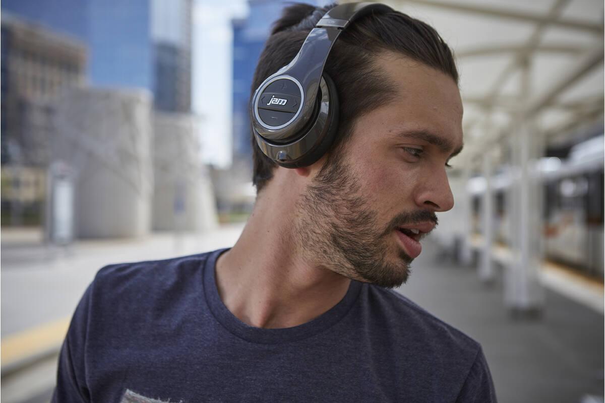 JAM Transit City Bluetoothos Zajszűrős Fejhallgató 075df382c7