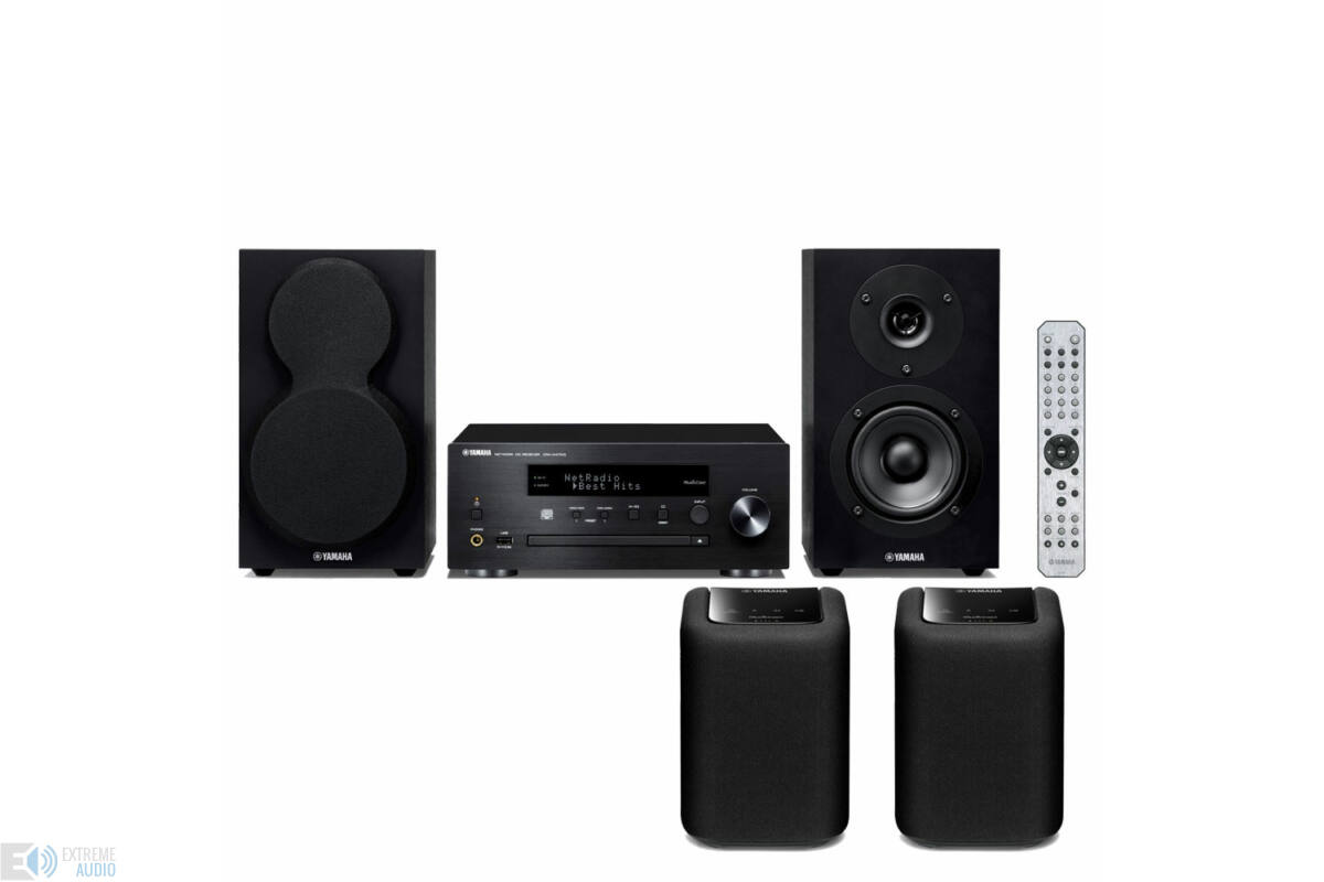 yamaha mcr n470d musiccast mikro hi fi rendszer 2db wx. Black Bedroom Furniture Sets. Home Design Ideas