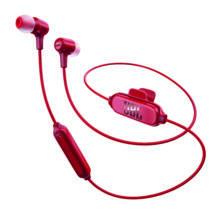 JBL E25 BT Bluetooth fülhallgató, piros