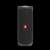 JBL Flip 5 vízálló bluetooth hangszóró (Midnight Black), fekete