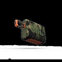 JBL GO 3  hordozható bluetooth hangszóró, squad (terep)