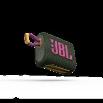 JBL GO 3  hordozható bluetooth hangszóró, zöld