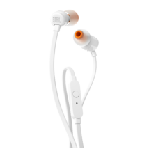 JBL T110 fülhallgató, fehér