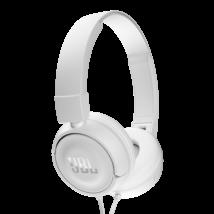 JBL T450 fejhallgató fehér