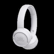 JBL T500BT bluetooth-os fejhallgató, fehér