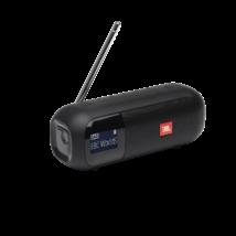 JBL Tuner 2 hordozható Bluetooth hangszóró rádióval, fekete