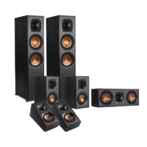 Klipsch R-820F 5.0.2 atmos hangfalszett, fekete